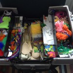 Craft materials box