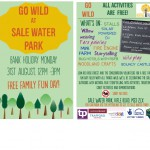 Short Story Lady event at Sale Water Park, 31st August 2015 12-3pm