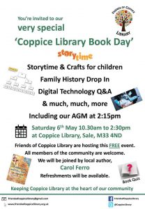 Coppice Book day 6 May