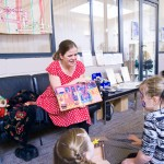 "Storytelling at the"" Mums in the Know"" Christmas fair"