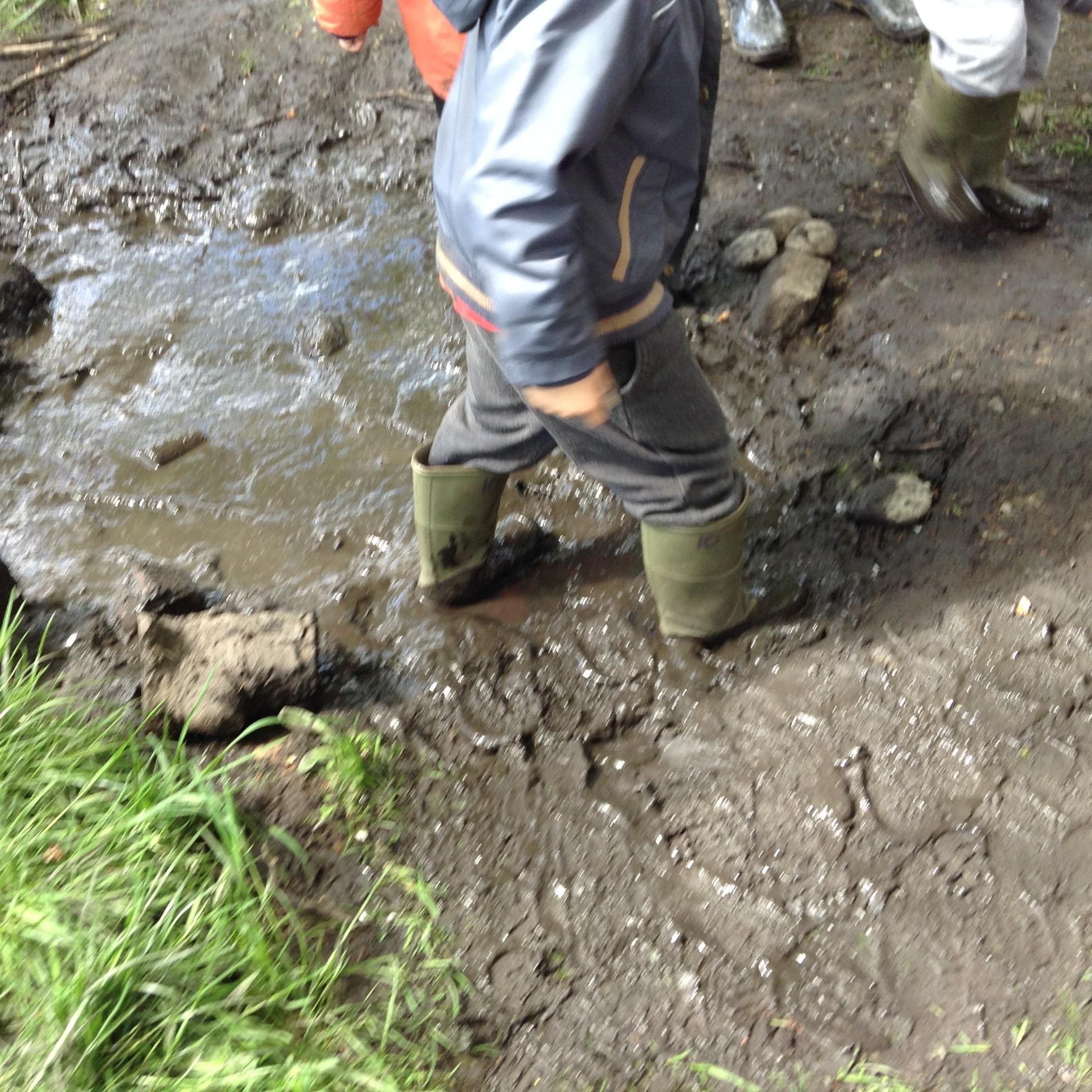 Thick Oozy Mud!